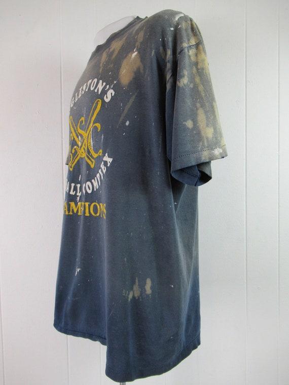Vintage t shirt, painter's t shirt, distressed t … - image 4