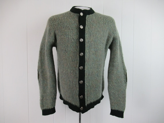Vintage sweater, fuzzy sweater, 1960s sweater, but