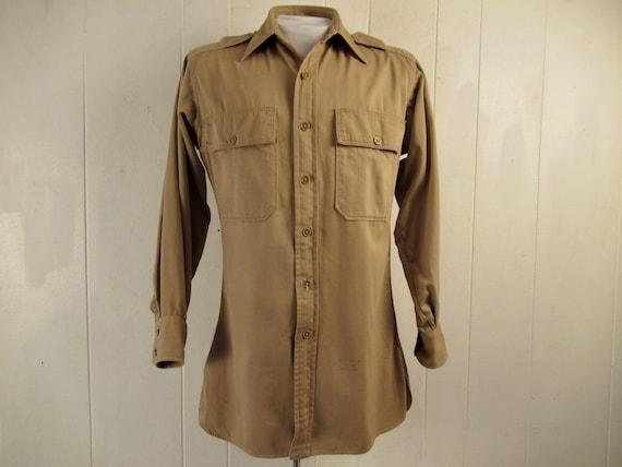Vintage shirt, 1940s shirt, Lord & Taylor, work sh