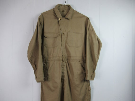 Vintage coveralls, 1950s coveralls, vintage workwe