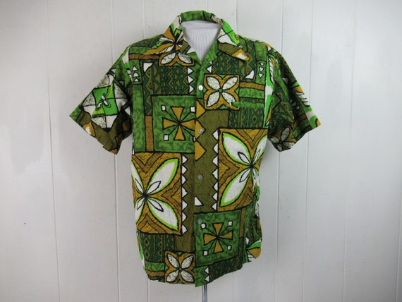 Vintage shirt, Hawaiian shirt, vintage Hawaiian, K
