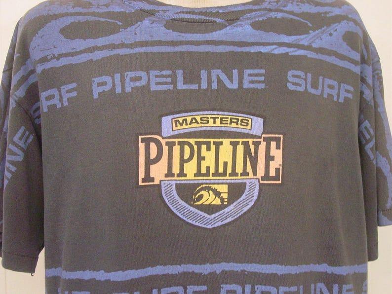 75029faf Vintage t shirts vintage 80s t shirt Pipeline Surf surfer t   Etsy