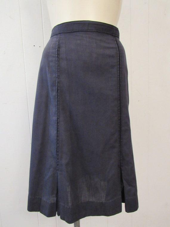 Vintage uniform, 1940s uniform, cotton uniform, s… - image 6