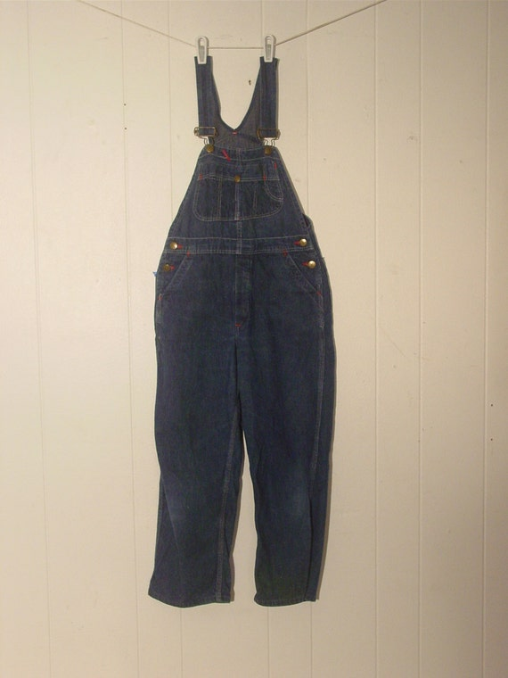 CHILD'S VINTAGE 1950s overalls, vintage clothing,… - image 1