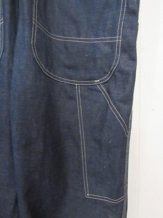 Vintage denim overalls, Dubble Ware denim, vintag… - image 9