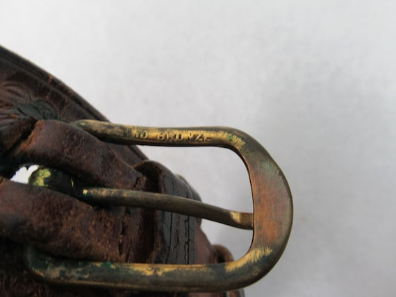 Vintage belt, 1940s belt, cowboy belt, western be… - image 10