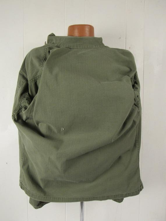 Vintage jacket, Army jacket, 1950s jacket, shirt … - image 7