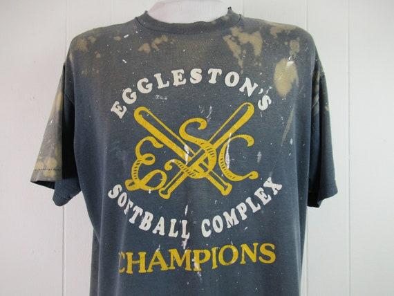 Vintage t shirt, painter's t shirt, distressed t … - image 2
