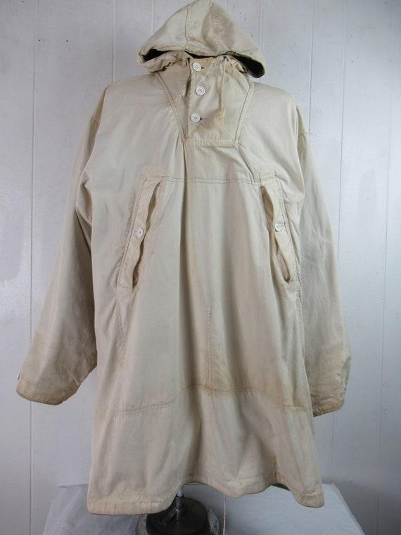 Vintage parka, 1940s jacket, WWII reversible jack… - image 6