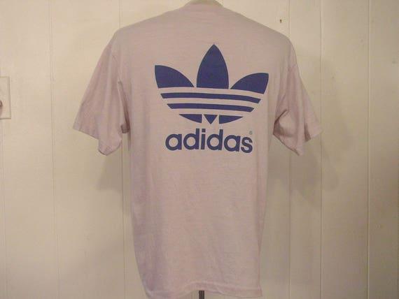 Vintage t-shirt, Adidas t shirt, 1980s Adidas t sh