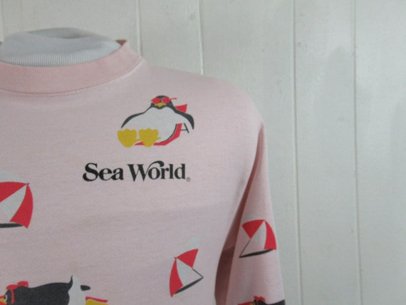 Vintage sweatshirt, Sea World sweatshirt, 1980s sw