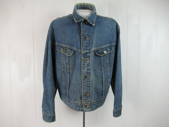 Vintage jacket, trucker jacket, denim jacket, 1970