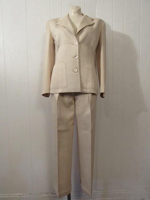 1940s suit, Vintage suit, women's suit, weekender… - image 2