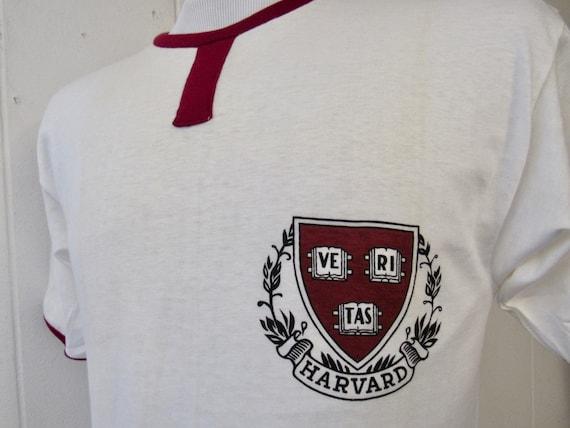 Vintage t shirt, 1950s t shirt, Harvard t shirt, c