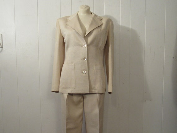 Vintage suit, women's suit, weekender suit, jacket