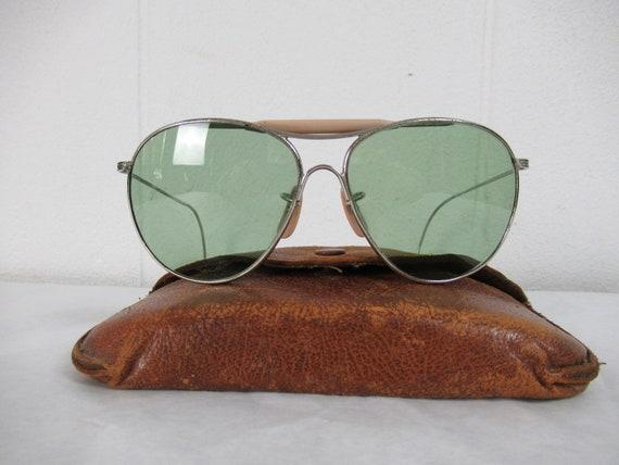 Vintage sunglasses, aviator sunglasses, 1940s sung