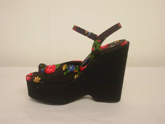 1950s platform shoes, Rockabilly shoes, Vintage sh
