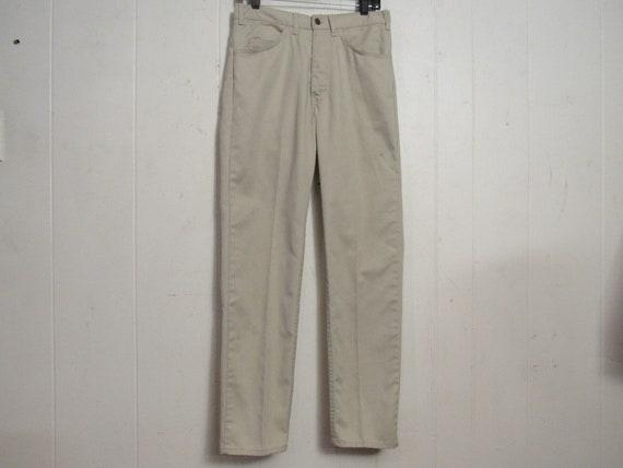 Vintage Levis, vintage pants, Levis big E pants, 1