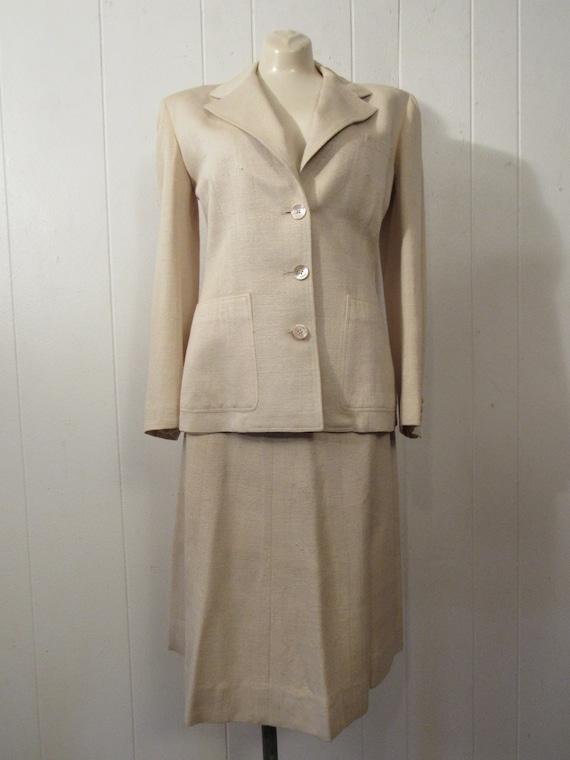 1940s suit, Vintage suit, women's suit, weekender… - image 9