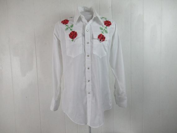 Vintage shirt, cowboy shirt,  Rockmount shirt, 197