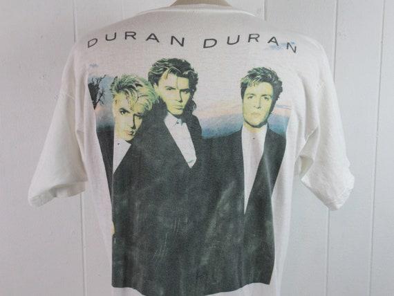Vintage t shirt, Duran Duran t shirt, 1980s t shi… - image 5