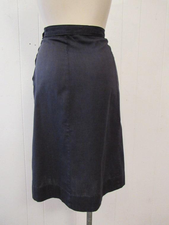 Vintage uniform, 1940s uniform, cotton uniform, s… - image 8