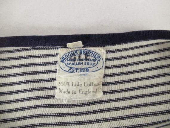 Vintage t shirt, 1950s t shirt, vintage Brooks Br… - image 6
