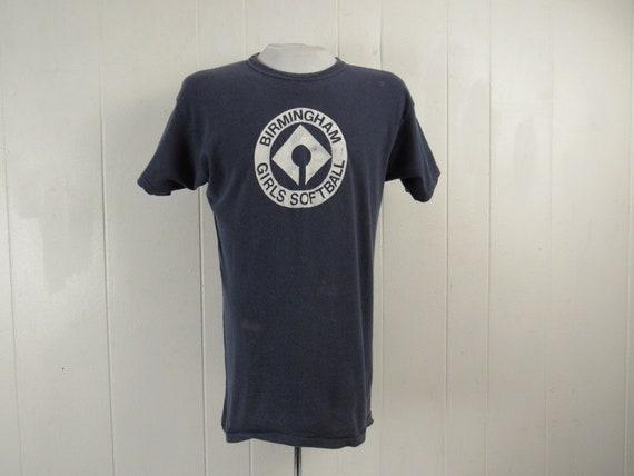 Vintage t shirt, 1960s t shirt, Birmingham t shirt
