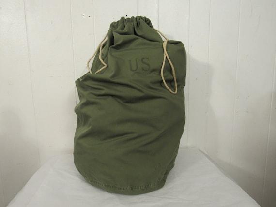 Vintage bag, vintage knapsack, U.S. military bag,