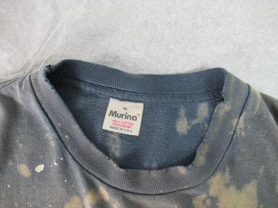 Vintage t shirt, painter's t shirt, distressed t … - image 7
