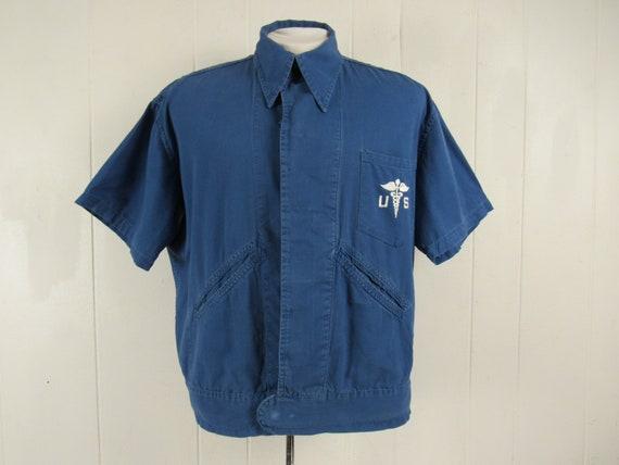 Vintage shirt, 1930s shirt, U.S. shirt, short slee