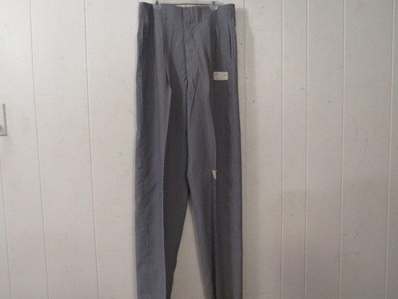 Vintage pants, gabardine pants, 1940s pants, Holly