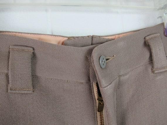 Vintage pants, 1940s pants, Army pants, pinks, mi… - image 3