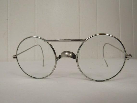 Vintage glasses, safety glasses, steampunk glasses