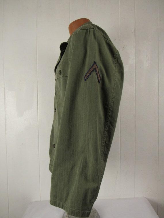 Vintage jacket, Army jacket, 1950s jacket, shirt … - image 4