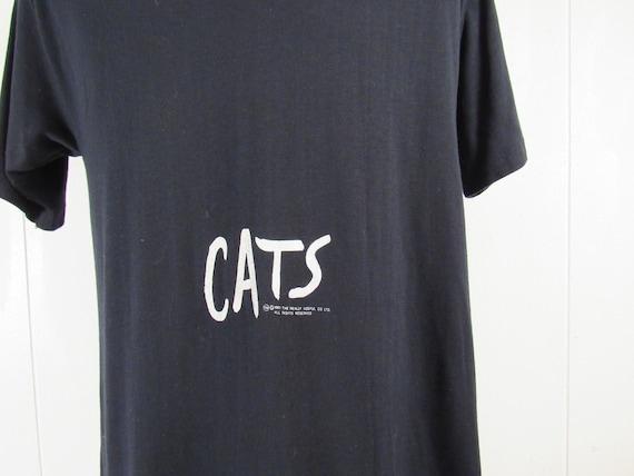 Vintage t shirt, 1980s t shirt, Cats t shirt, Broa