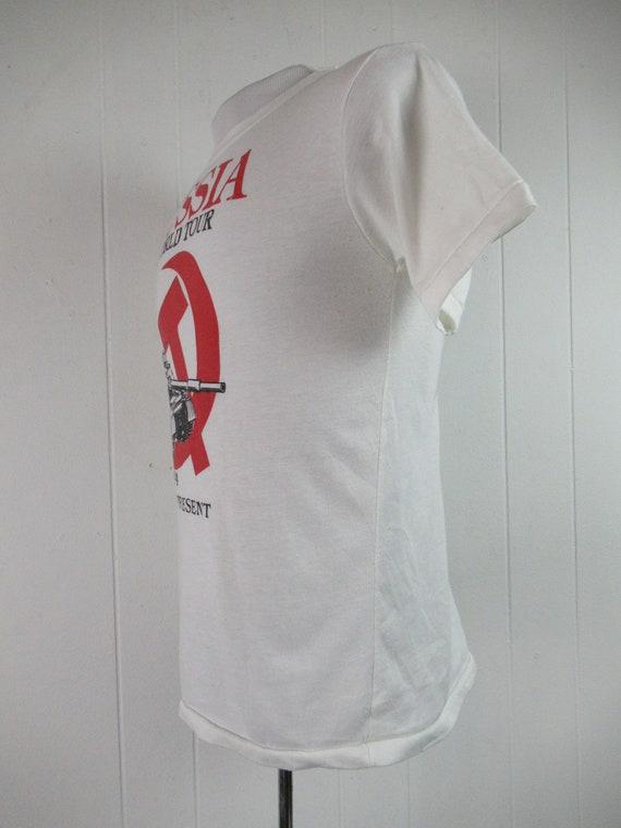 Vintage t shirt, Russia t shirt, 1980s t shirt, s… - image 4