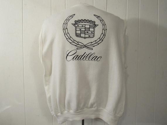 Vintage sweatshirt, 1980s shirt, Cadillac shirt, 1