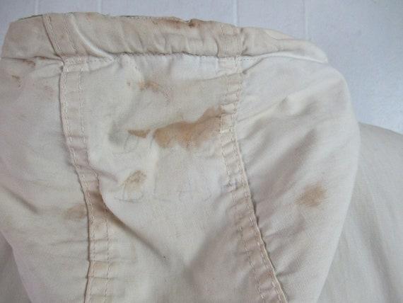 Vintage parka, 1940s jacket, WWII reversible jack… - image 10