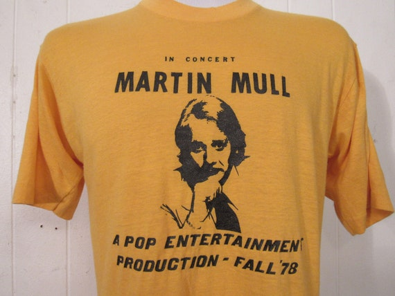 Vintage t shirt, 1970s t shirt, Martin Mull, comed