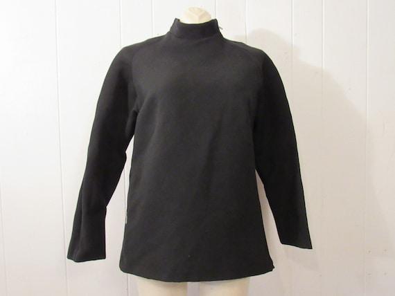 Vintage jacket, ski jacket, asymmetric jacket, mod