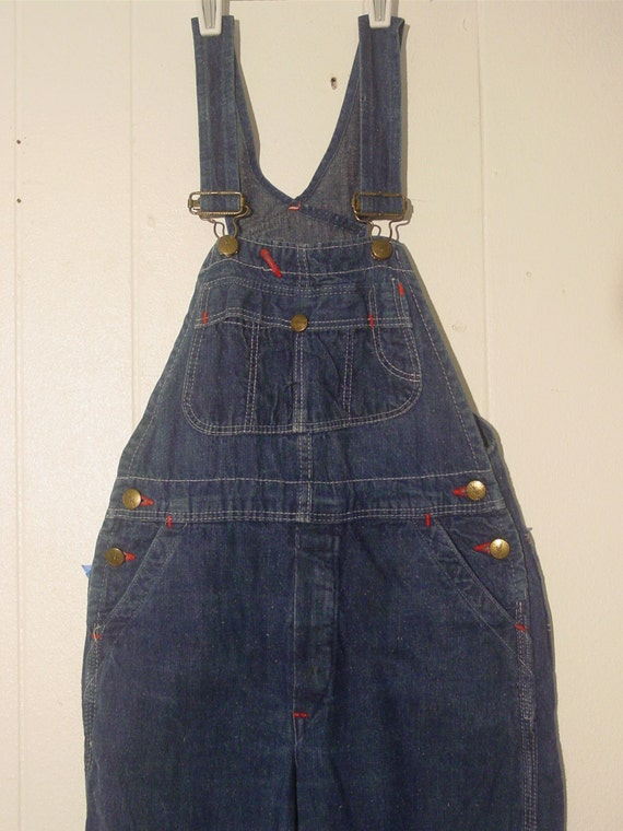 CHILD'S VINTAGE 1950s overalls, vintage clothing,… - image 2