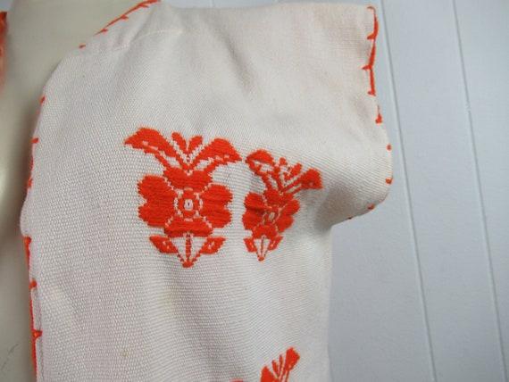 Vintage vest, ethnic vest, cotton vest, bohemian … - image 3