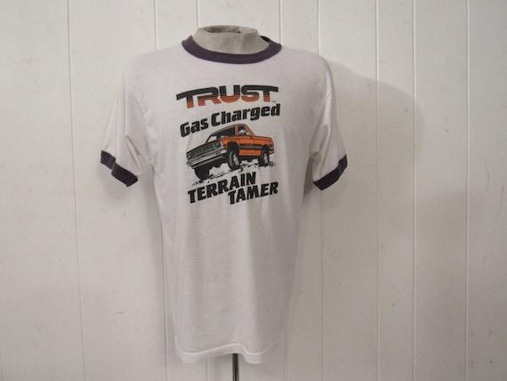 Vintage t shirt, vintage ringer, pick up t shirt,