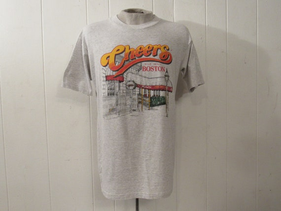 Vintage t shirt, Boston t-shirt, Cheers t shirt, T