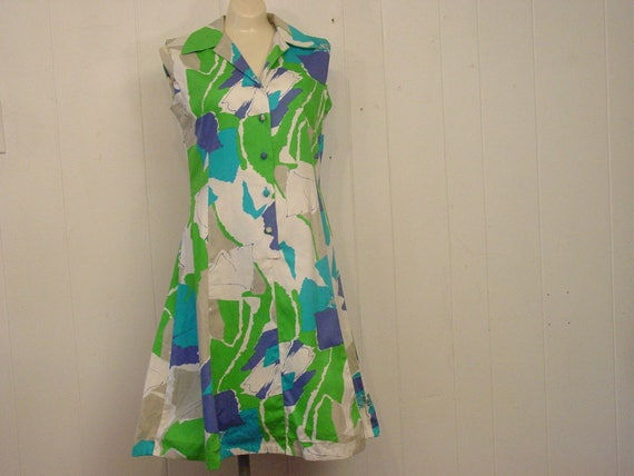 Vintage Dress, 1960s Hawaiian dress, Hawaiian dres