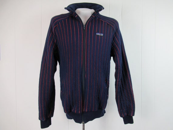 Vintage Patagonia, Patagonia jacket, pinstriped Pa