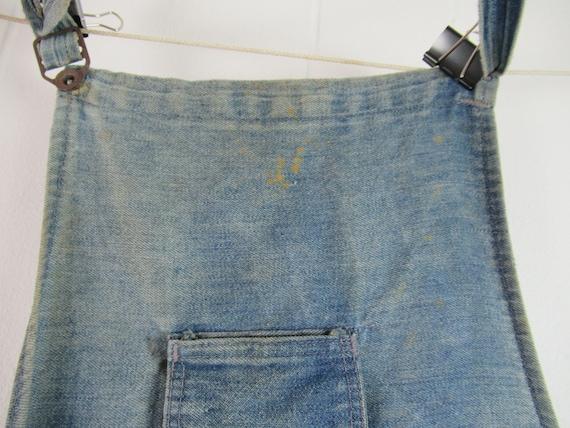 Vintage work apron, vintage workwear, work apron,… - image 5