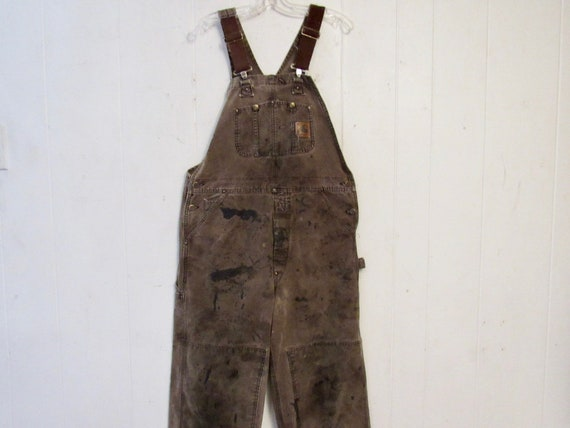Vintage overalls, 1980s overalls, Carhartt overall