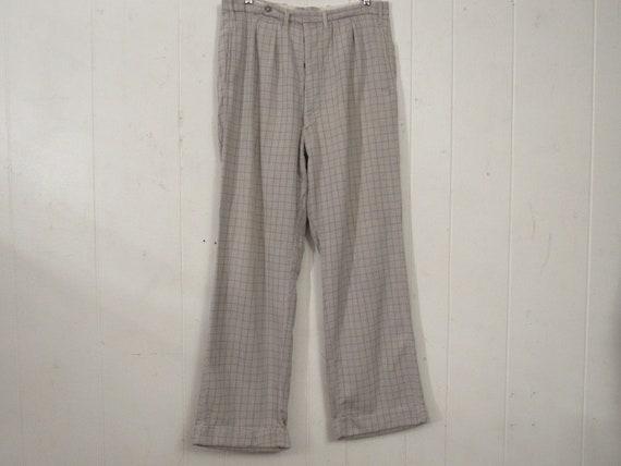 Vintage work pants, 1930s pants, corduroy pants, c